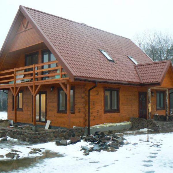 Domy drewniane zaprojektowane przez architektów z Białegostoku