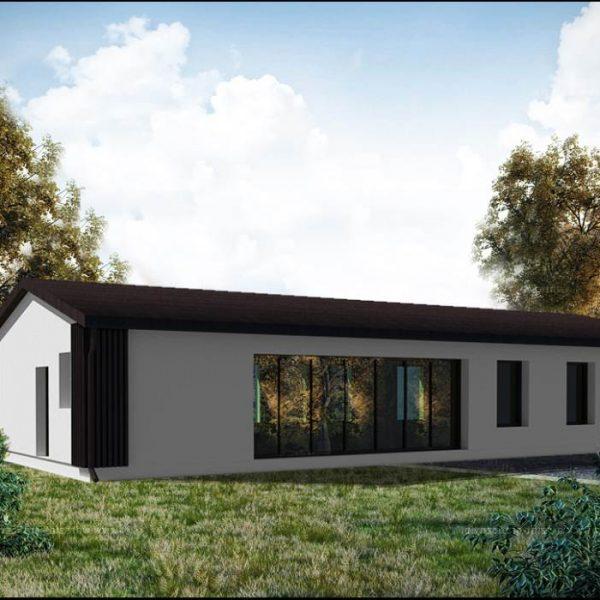 Realizacja białostockich architektów projekty domów na wąskiej działce