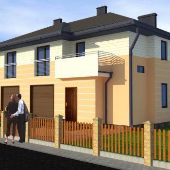Projekty zabudowy bliźniaczej oferowane przez biuro projektowe