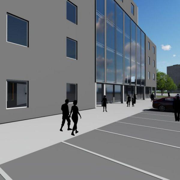 Biuro projektowe Białystok - projekty budynków usługowych