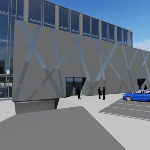 Projekty budynków usługowych w Białymstoku