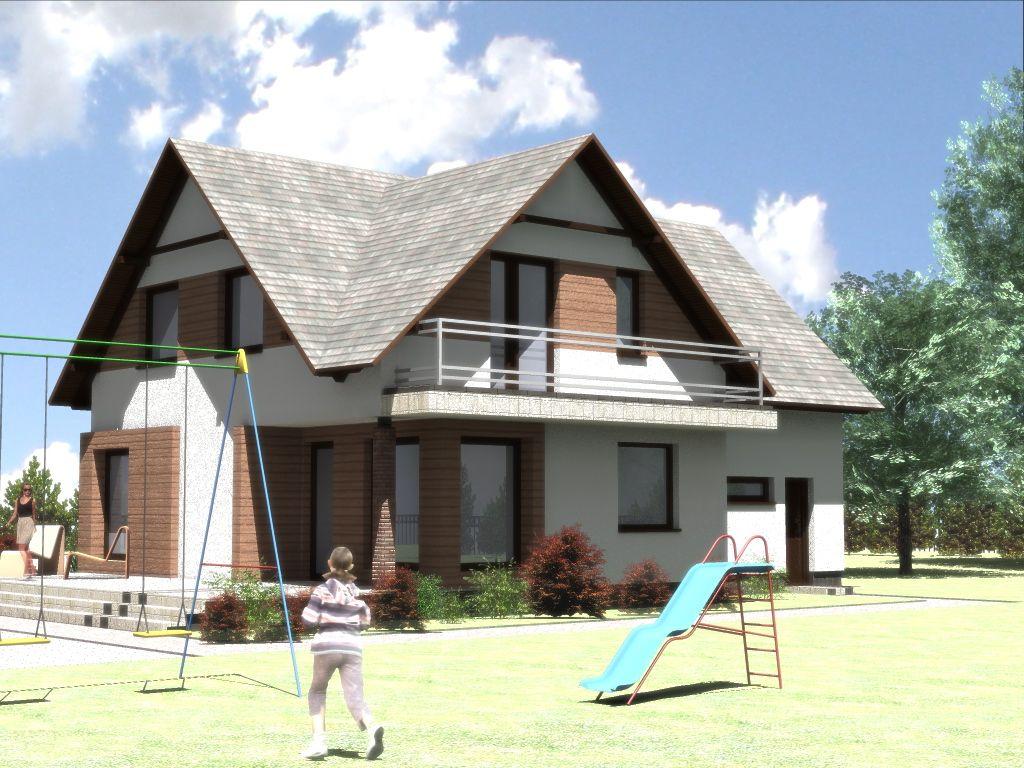 Projekt domu - wykonanie architekt Białystok