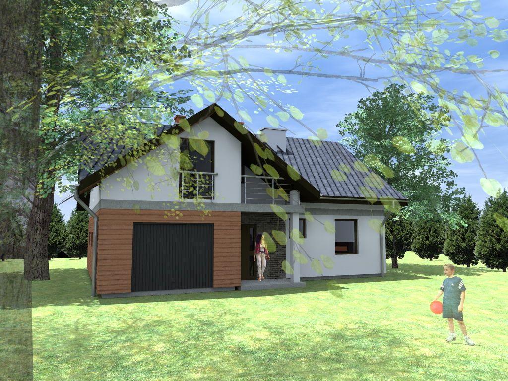 Realizacja białostockich architektów - domy mieszkalne