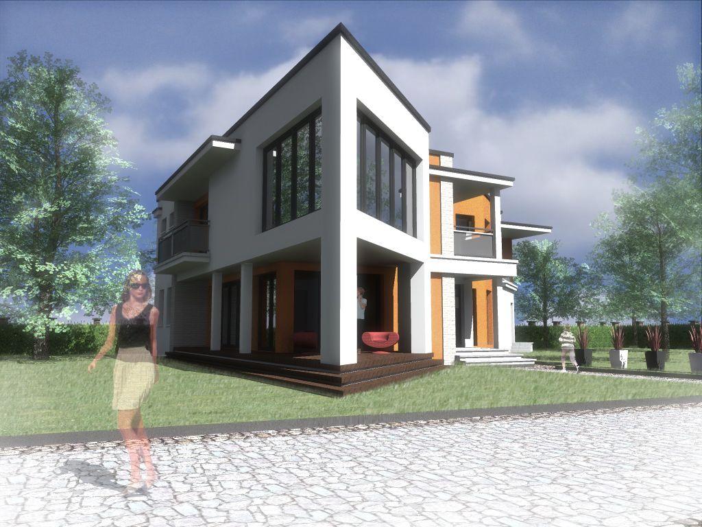 Budynek jednorodzinny - projekt białostockich architektów