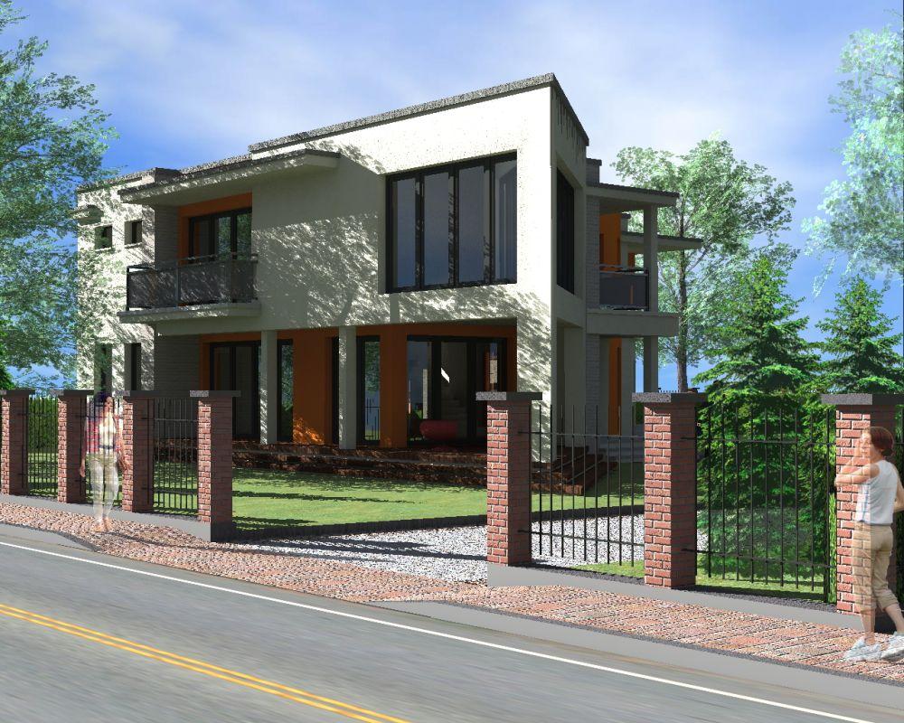 Projekt domu jednorodzinnego - wykonanie architekt Białystok