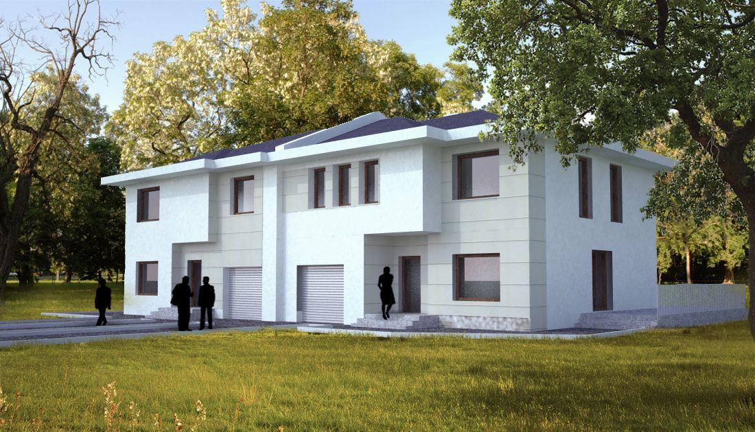 Zabudowa bliźniacza - oferta biura projektowego z Białegostoku