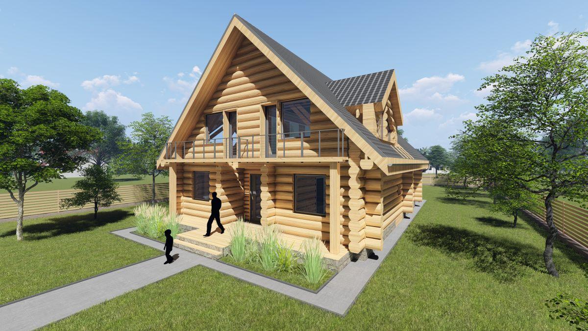 Projekty architekta - domy jednorodzinne Białystok