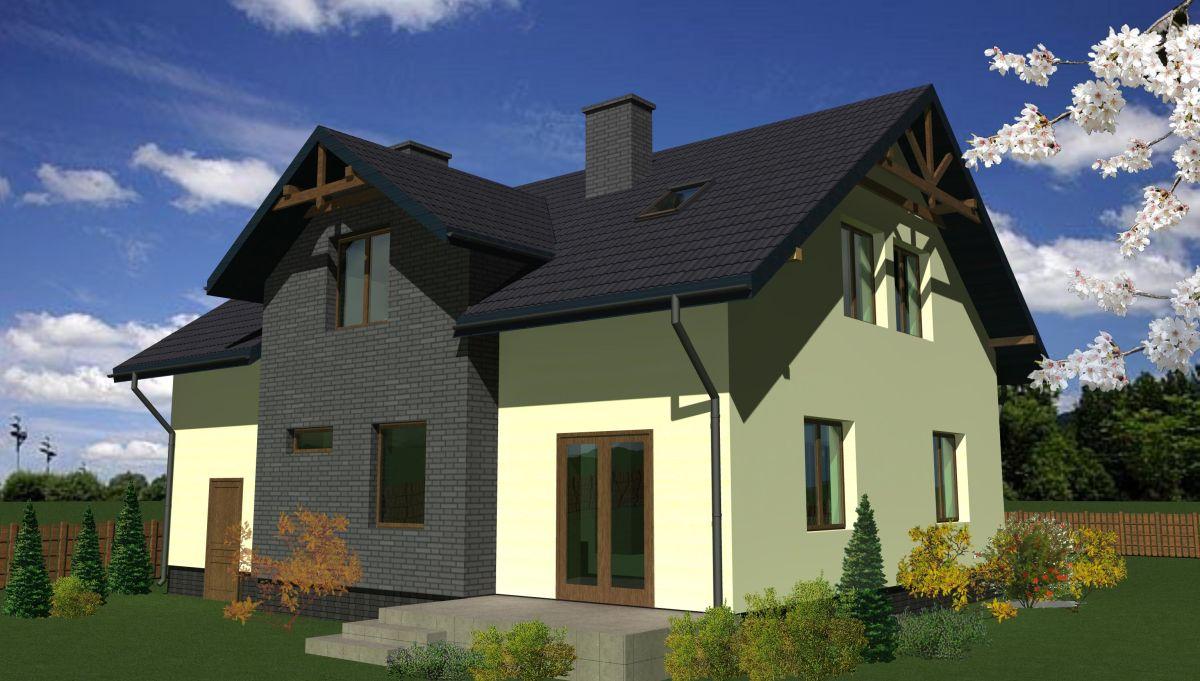 Projekt domu jednorodzinnego architekci Białystok