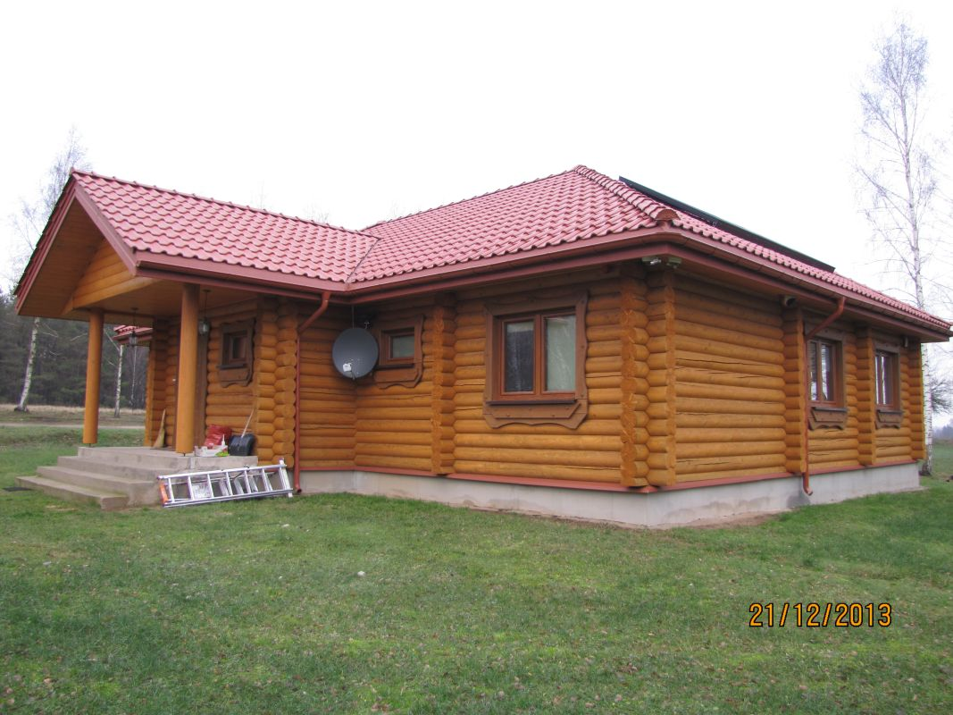 Dom jednorodzinny zaprojektowany przez architekta z Białegostoku