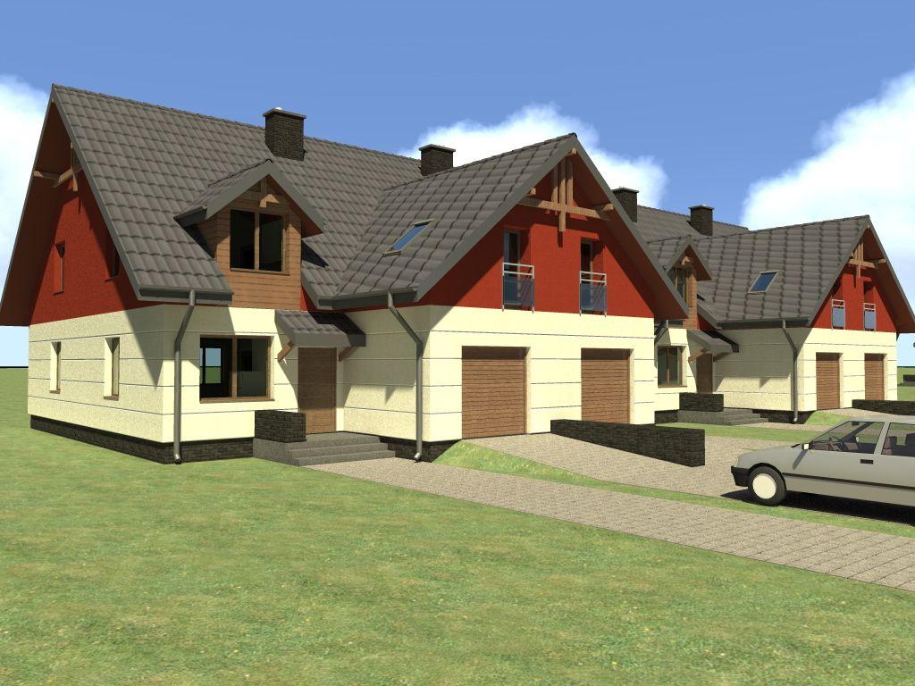 Projekty bliźniaków w ofercie architektów z Białegostoku