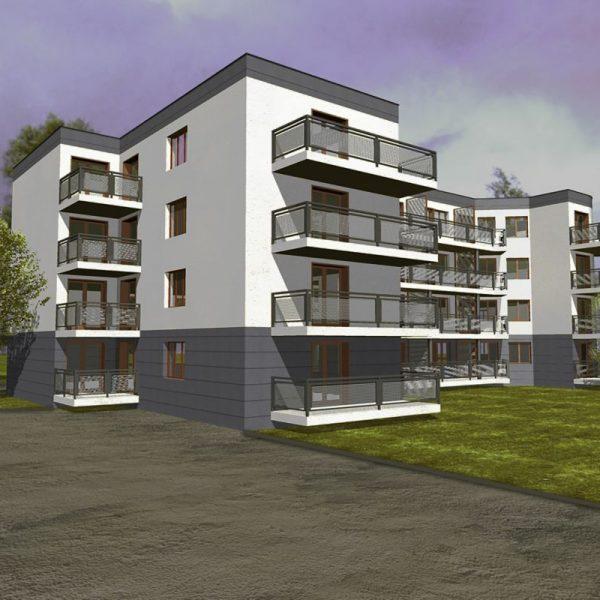 Budynki wielorodzinne - biuro projektowe Białystok