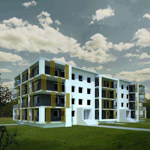 Realizacje białostockich architektów - budynki wielorodzinne