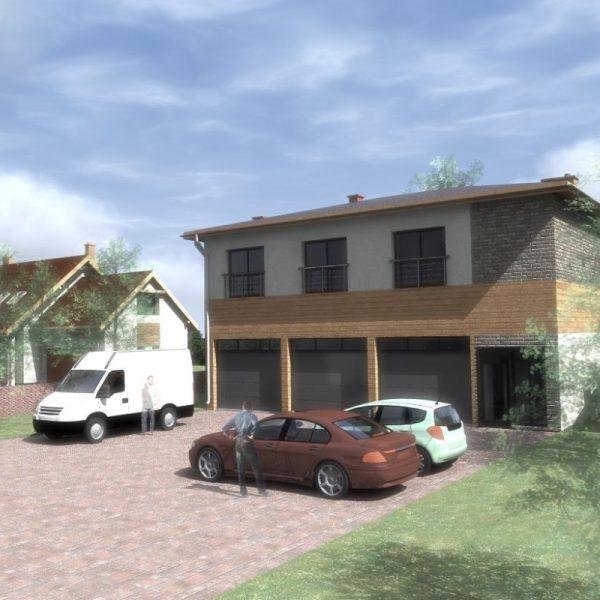 Projekt domu okolice Białegostoku