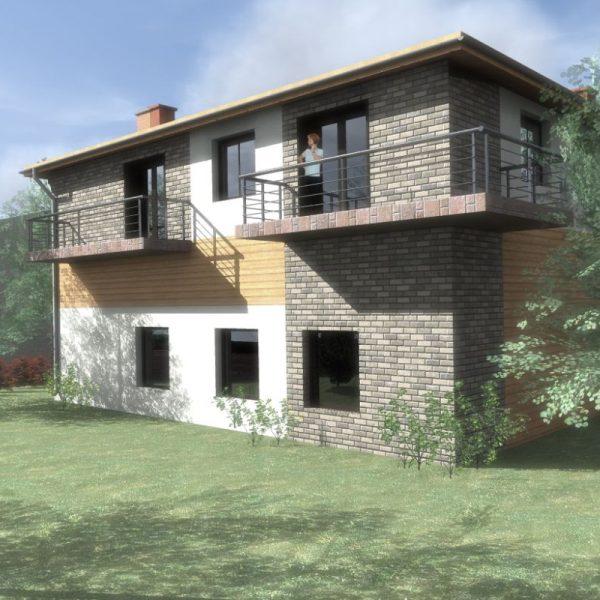 Dom z warsztatem - projekt białostockich architektów
