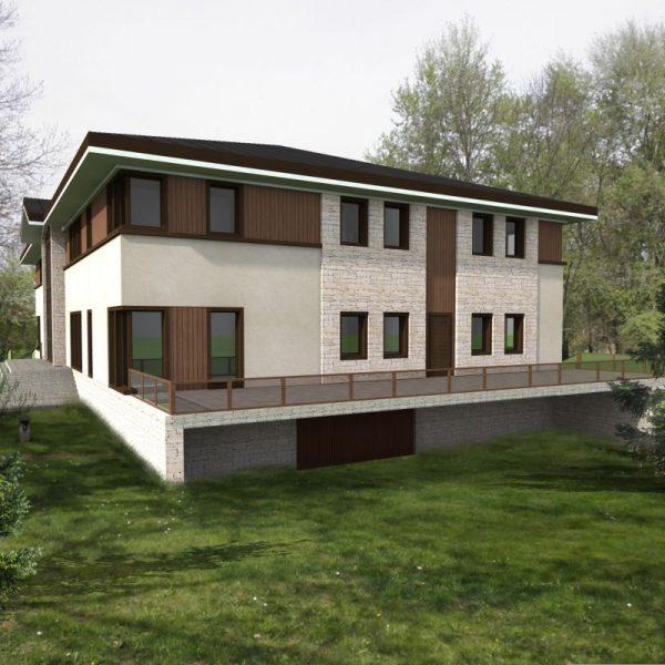 Projekt nadleśnictwa - architekci z Białegostoku