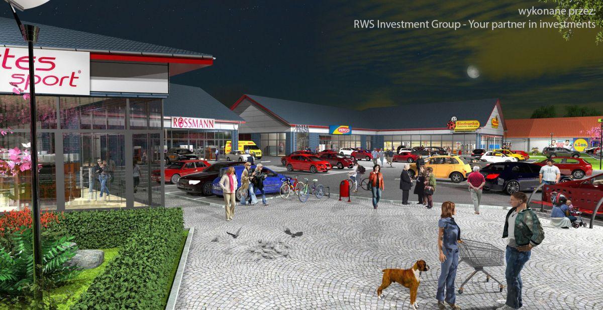 Realizacja białostockich architektów - budynki handlowe