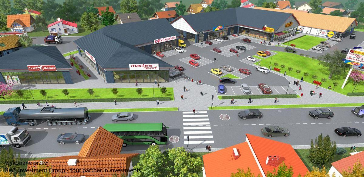 Projekty budynków handlowych wykonane przez architektów z Białegostoku