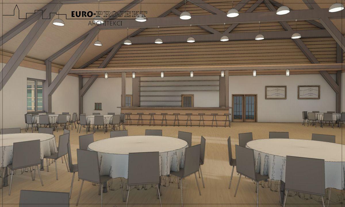 Realizacja architektów z Białegostoku - projekt karczmy