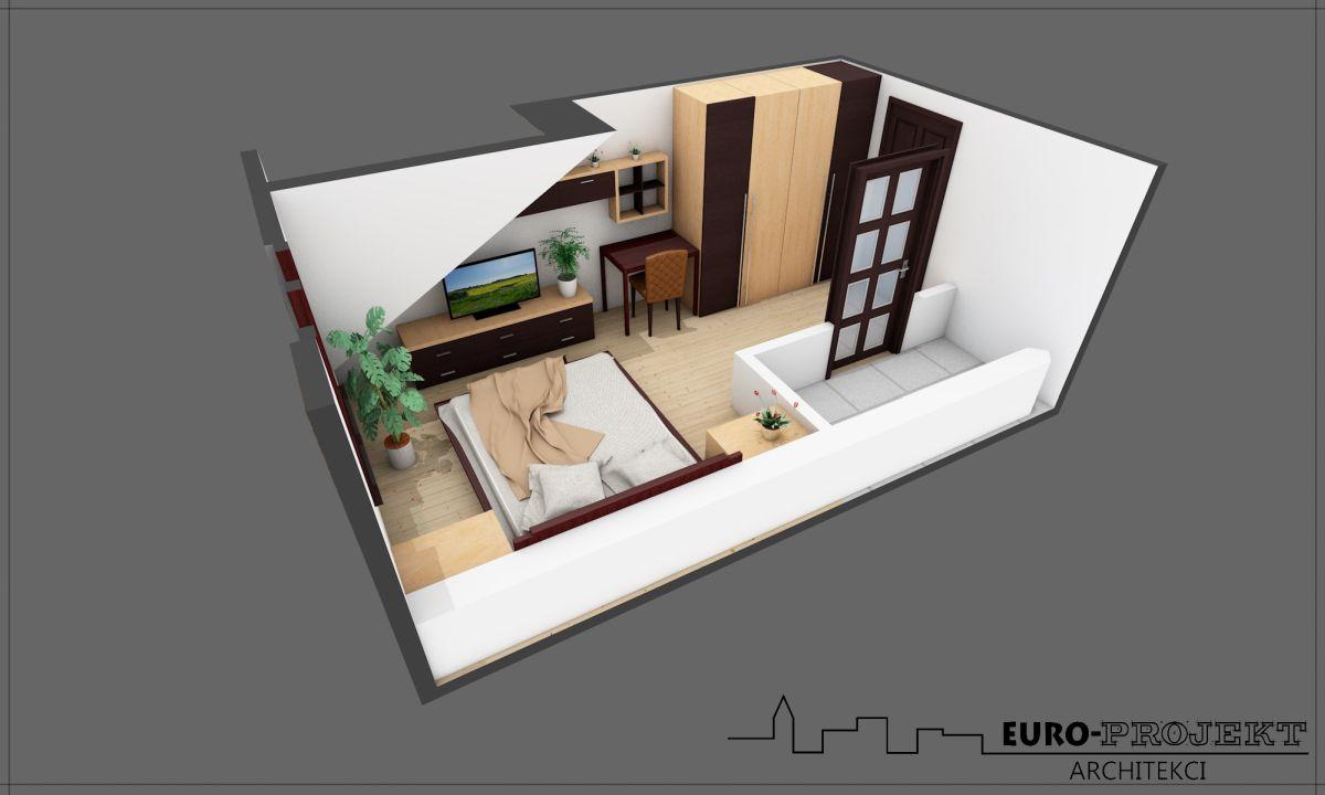 Projekt karczmy wykonany przez architekta z Białegostoku