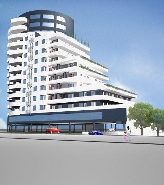 Projekt wykonany przez biuro z Białegostoku budynek wielorodzinny