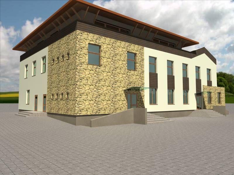Projekt domu weselnego - biuro projektowe Białystok