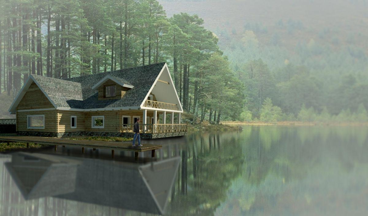 Projekt pensjonatu wykonany przez białostockich architektów