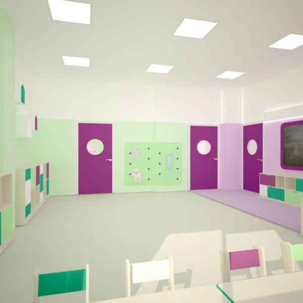 Projekty architektów - przedszkole w Białymstoku