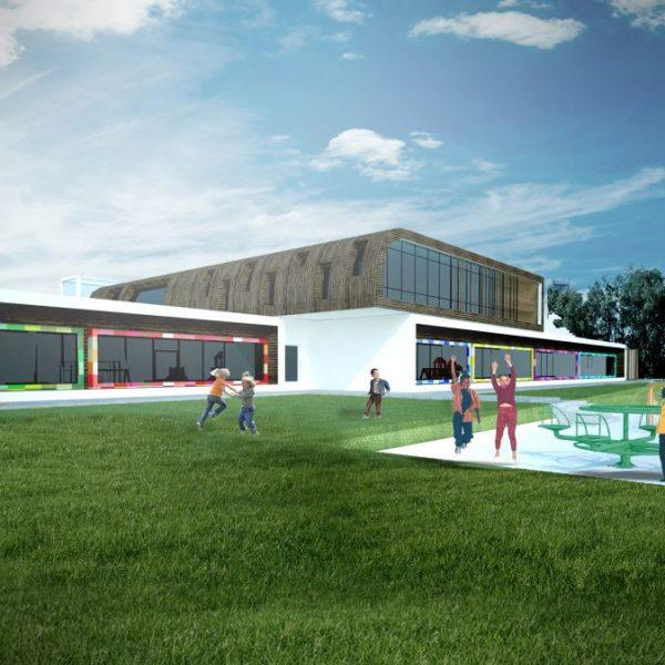 Projekt budynku oświaty - projekt białostockich architektów