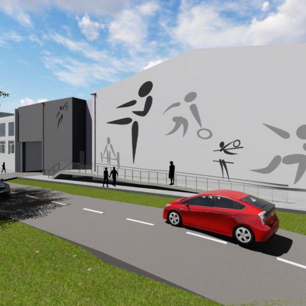 Projekt budynku oświaty wykonany przez architekta z Białegostoku