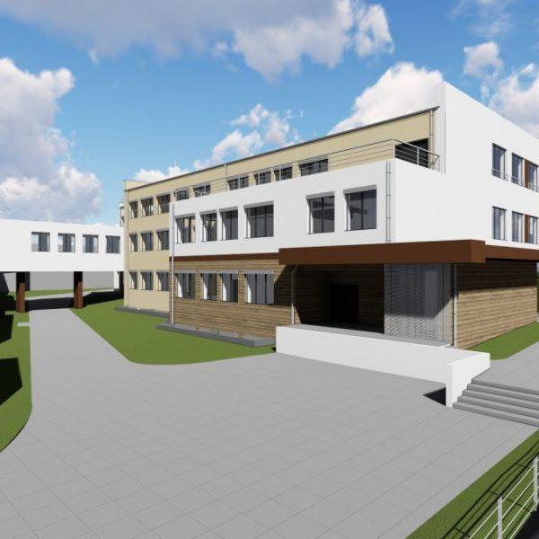 Projekty budynków oświaty Białystok