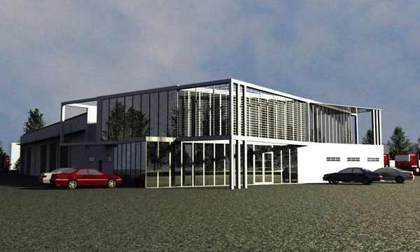 Projekt salonu - architekci z Białegostoku