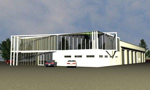 Projekt salonu wykonany przez architektów z Białegostoku