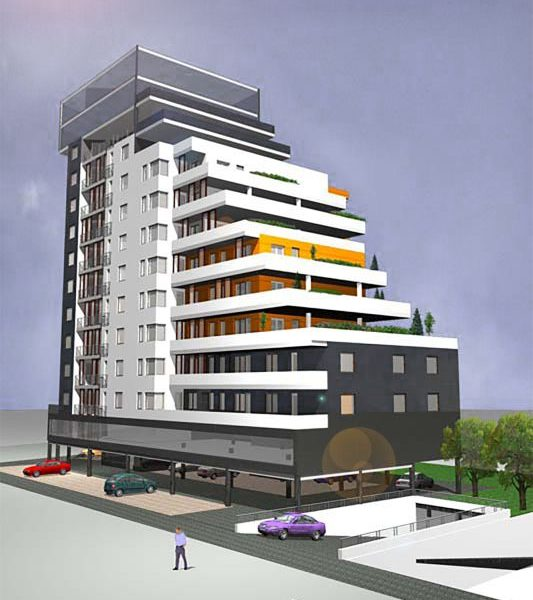 Projekt budynku wielorodzinnego wykonany przez biuro z Białegostoku