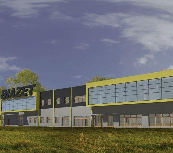 Projekt architektoniczny wykonany przez biuro projektowe Białystok